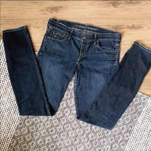 Citizens of Humanity Dark Wash Denim Jeans 30